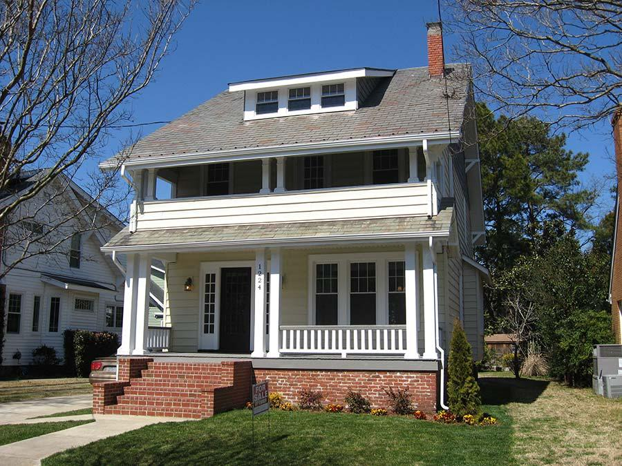 Larchmont Norfolk Whole House Renovation - Southeast Remodeling Contractor - Key Structures, LLC